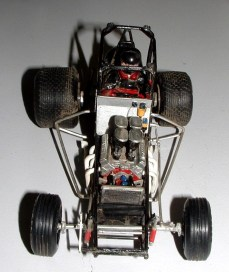 Alans' sprint car without body
