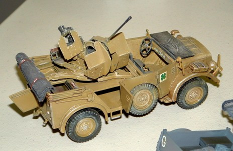 Dave's Horch and 2cm Flak lash up