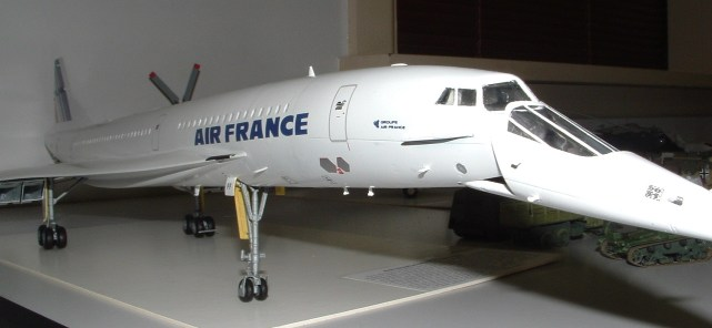 Leigh's Air France (naturally) Concorde