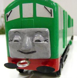 Marks Loco face view close up