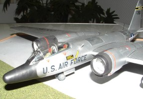 Mark's RB-57 close up nose view
