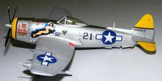 Steve's P-47 left side view