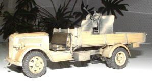 Tim's flak truck looking forward to seeing this model completed