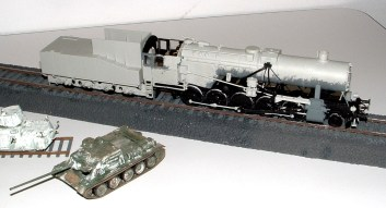 Zim's train, about 400 pieces of plastic so far