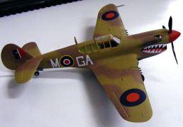 Steves' P-40 112 Shark Sqn