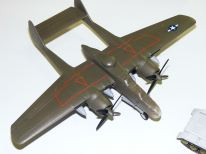 Steve's P-61 Black Widow with blackout windows