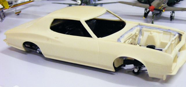 Alans commisioned car which needs finishing