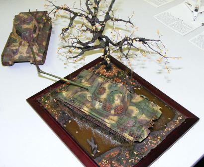 Jasons diorama upper view
