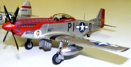Jason's P-51D Milly nose view