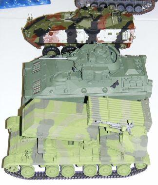 Micks armoured line up