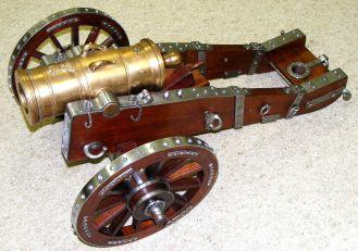 Nick's scratch built cannon 1