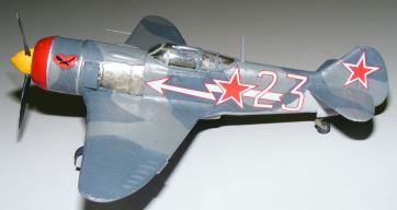 Rod's La-5 side view