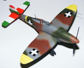 Steve's He-112 in Hungarian markings