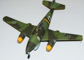 Steve's Me-262 overhead view