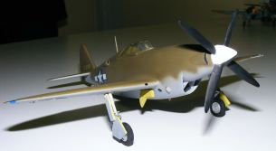 Steve's scratchbuilt XP-47 a very nice model