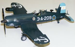 Wayne's F4U-5NL Corsair