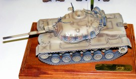 Wayne's M 48-A4 Israeli tank
