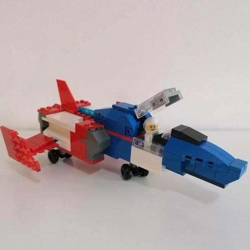 GUNDAM LEGO CORE FIGHTER COCKPIT