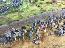 Confederates in a field.