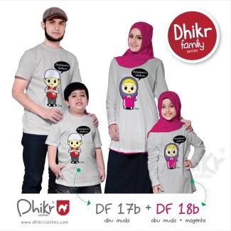 Model Baju Lebaran Keluarga Berupa Kaos untuk Mudik