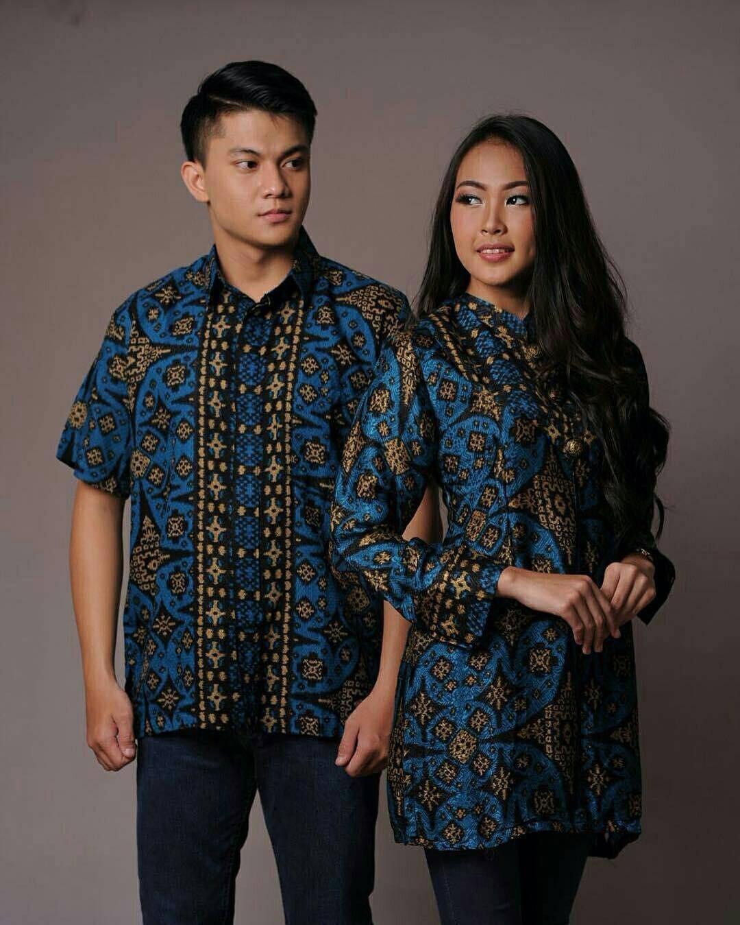 Model Baju Batik Couple yang Elegan