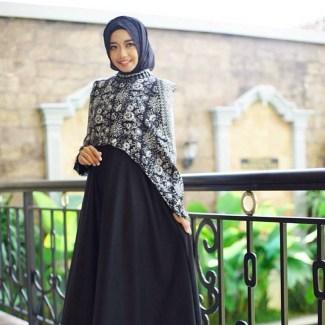 41 Model Baju Gamis Terbaru 2017 Pas Untuk Pesta Hingga Baju Lebaran