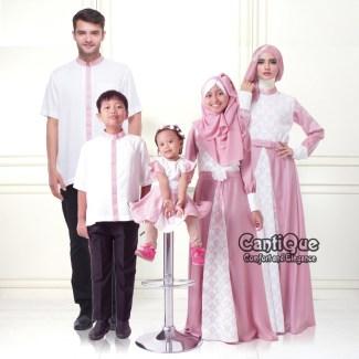 Model Baju Lebaran untuk Keluarga, Simpel dan Stylish