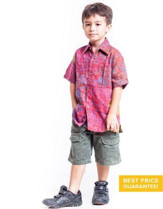 Kemeja Batik untuk Anak Laki-Laki Terbaru 2017