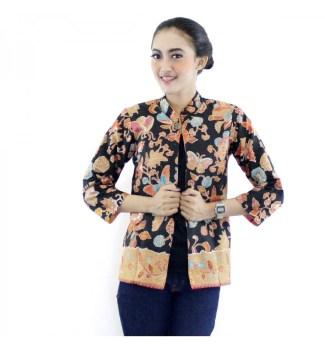 Baju Bolero Batik dengan Motif Kupu Kupu Cocok untuk Semua Penampilan