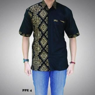 Kemeja Batik Kombinasi untuk Pria Cocok buat Kerja Maupun Pesta