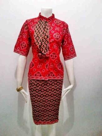 Model Baju Batik Layaknya Seorang Pramugari