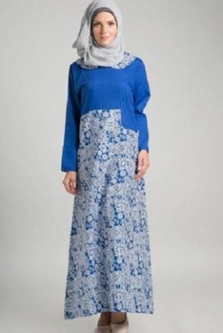 Model Baju Batik Muslimah untuk Pesta Palling Modern Saat Ini