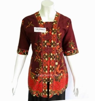 Pilihan Baju Batik untuk Guru Wanita dengan Motif Sederhana