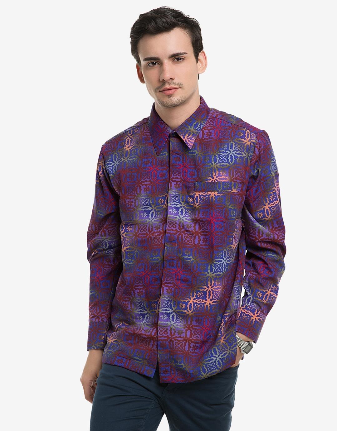 Lengkap 30 Model Baju Batik Pria Terbaik 2017 Agar Tampil Maskulin
