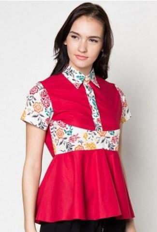 Model Baju Batik Remaja Lengan Panjang Modern Model Batik 2019