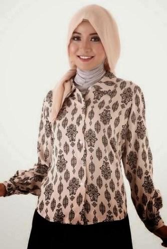 64 Model Baju Batik Jaman Now Gratis Terbaru