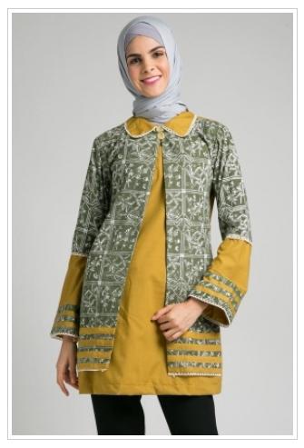40+ Model Baju Batik Atasan Wanita Terbaru 2018! Desain Modern   Trendi 51e0f89b77