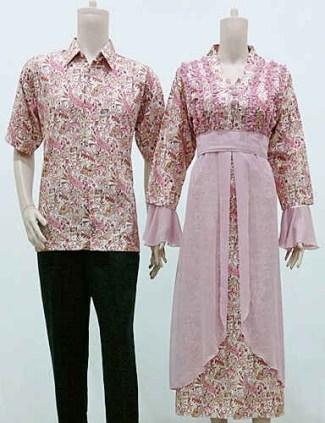 Model Baju Gamis Batik dengan Kombinasi Sifon Terbaru