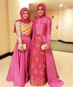 Model Baju Gamis Brokat untuk Pesta untuk Wanita Muslim