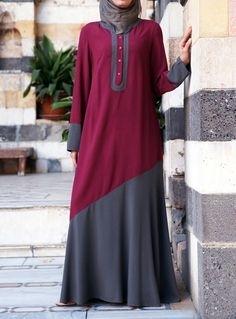 Model Baju Gamis Brokat untuk Wanita Muslimah Berbadan Gemuk