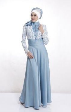 29 Model Kebaya Muslim Modern Terbaru 2018 Tampil Maksimal