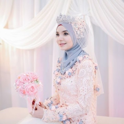 Model Kebaya untuk Pengantin Muslim Paling Cantik