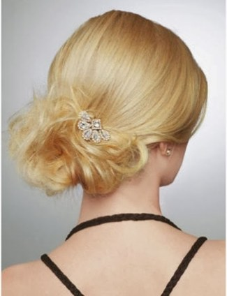 Model Sanggul Modern untuk Rambut Pendek