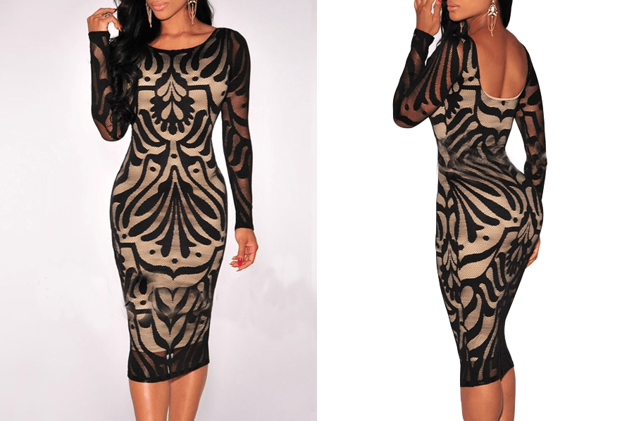 bodycon dress, bodycon