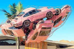 Art of the week: Chris Labrooy tangled car art