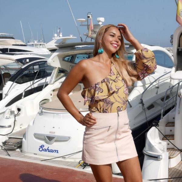 nora gouma, puerto banus, yachting