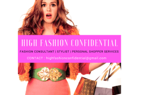 HIGH FASHION CONFIDENTIAL