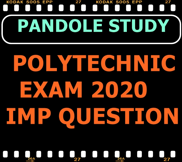 Bihar Polytechnic 2021 VVI Question Objective Type Questions In hindi