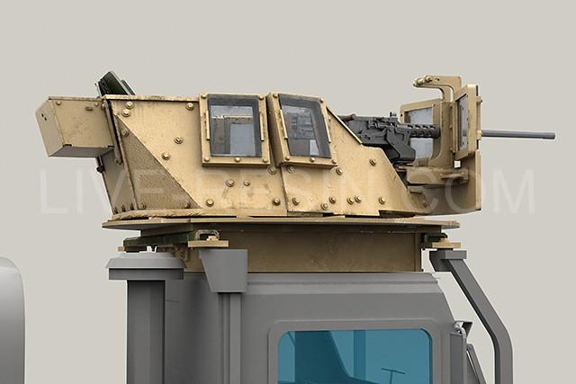 MCTAGS Marine Corps Transparent Armored Gun Shield USMC