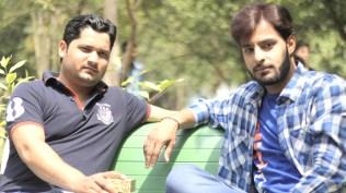 Model Saurabh Tandon And Naim Khan shooting TERI HAR ADAA